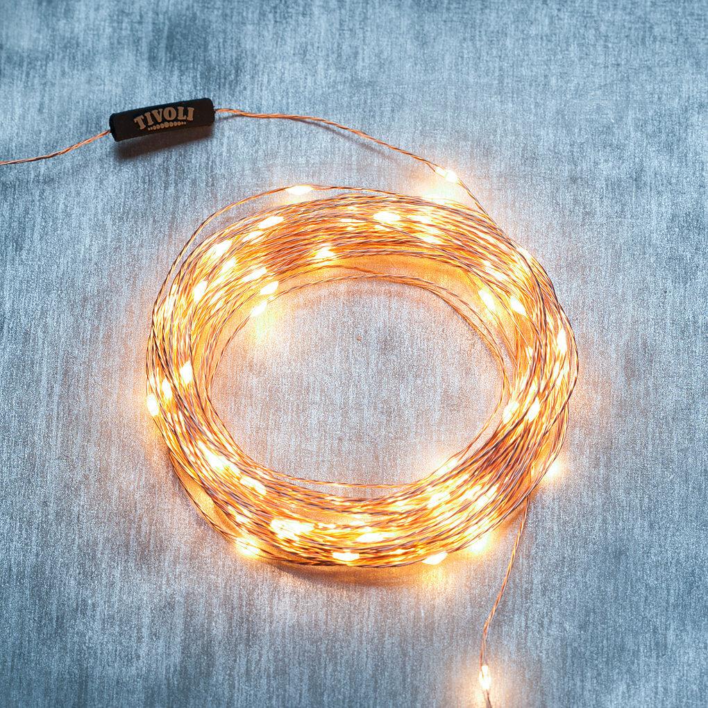 50 Copper Tivoli LED Fairy Lights