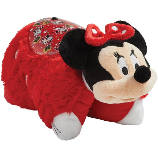 Sleeptime Lite Disney Rockin The Dots Minnie Mouse Plush Night Light by Pillow Pets