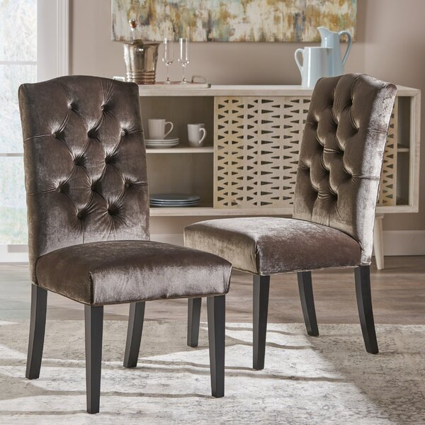 Anders Solid Wood Dining Chair (Set of 2) by Mercer41