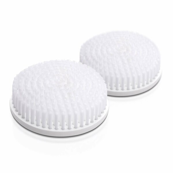 Body Brush Replacement Heads (Set of 2) by Toilet Tree Products