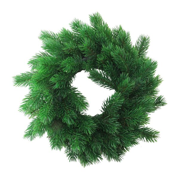 Decorative Artificial Christmas 12 Pine Wreath by The Holiday Aisle