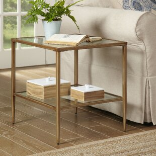 Nash Double Shelf End Table