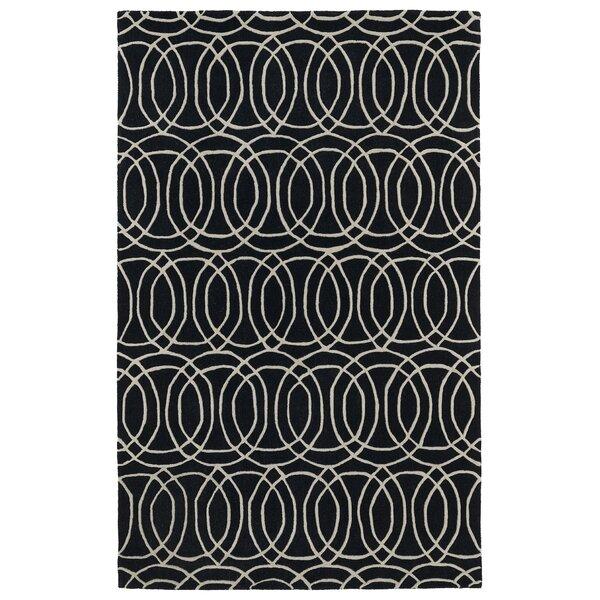 Vanauken Black Area Rug by Wrought Studio