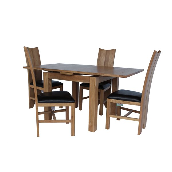 Baxley 5 Piece Extendable Dining Set by Foundry Select