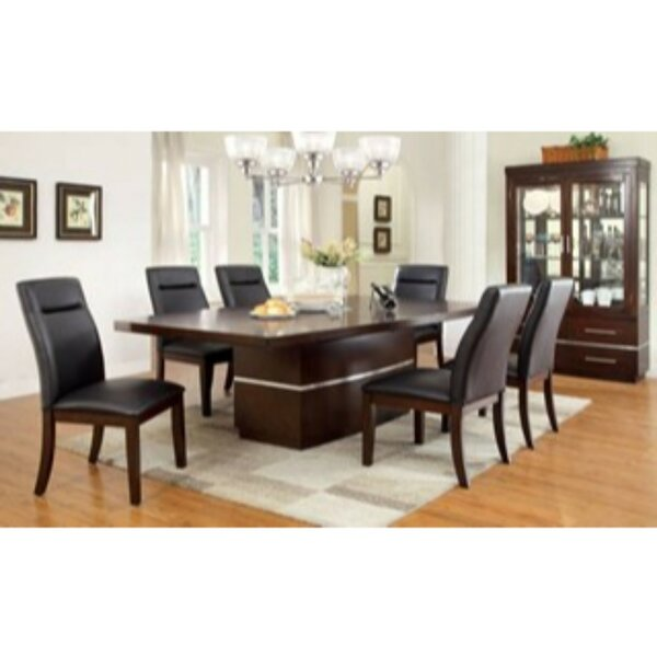 Northfleet 7 Piece Extendable Solid Wood Dining Set by Orren Ellis
