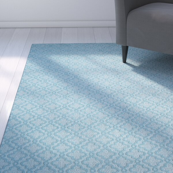 Bettie Hand-Tufted Light Bue Area Rug by Latitude Run