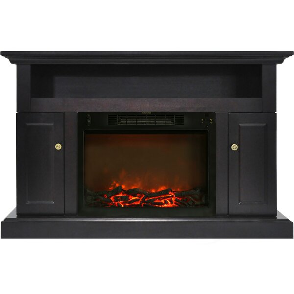 Broncho TV Stand with Fireplace by Alcott Hill Alcott Hill
