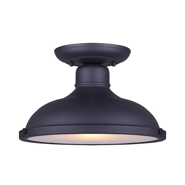Barnfield Outdoor Flush Mount by Gracie Oaks