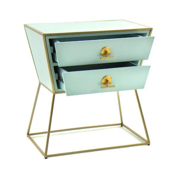 Jonah 2 Drawer Nightstand by Gabby