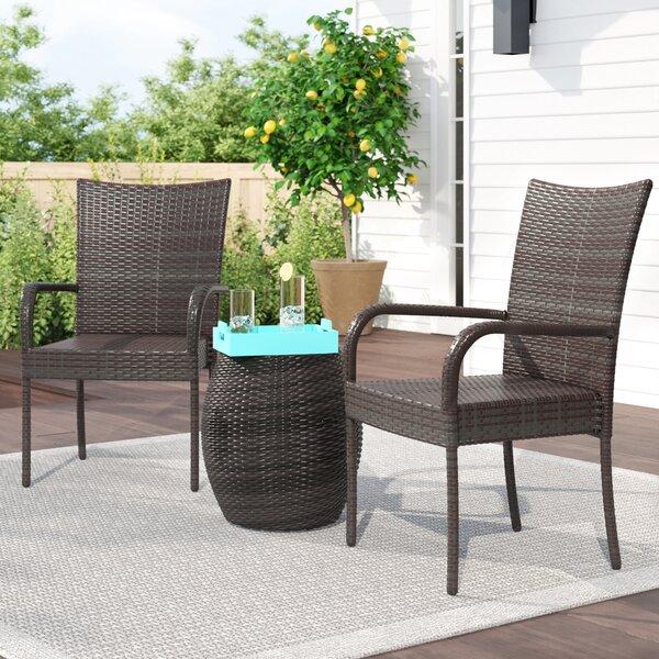 Knobel 3 Piece Rattan Seating Group by Zipcode Design
