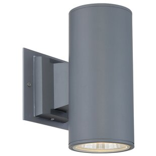 Best Reviews Outdoor Downlight Sconce 1 Light LED Deck, Step, or Rail Light By Eurofase