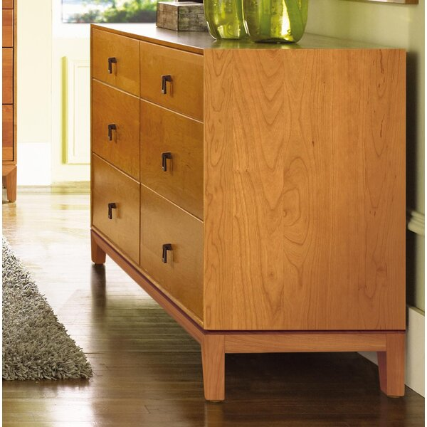 Mansfield 6 Drawer Double Dresser by Copeland Furniture