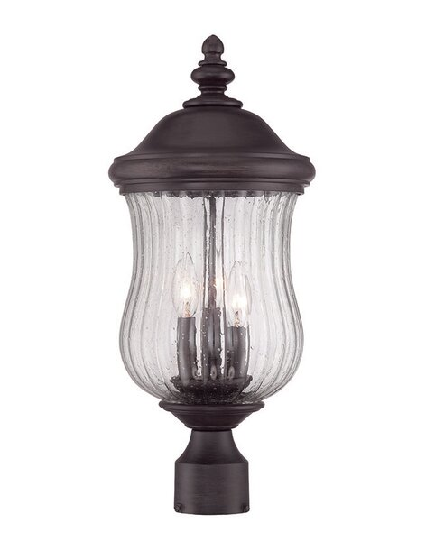 Berwyck 3-Light Lantern Head by Fleur De Lis Living