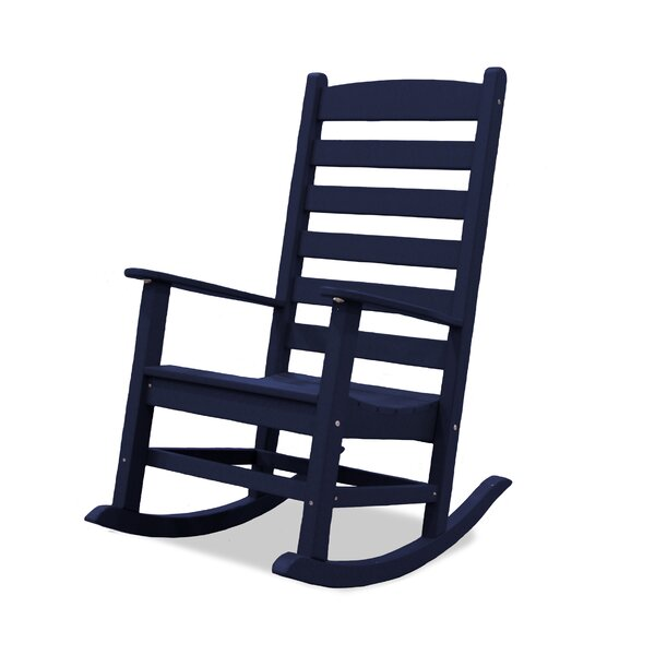 Moorehead Ladder Rocking Chair by Highland Dunes