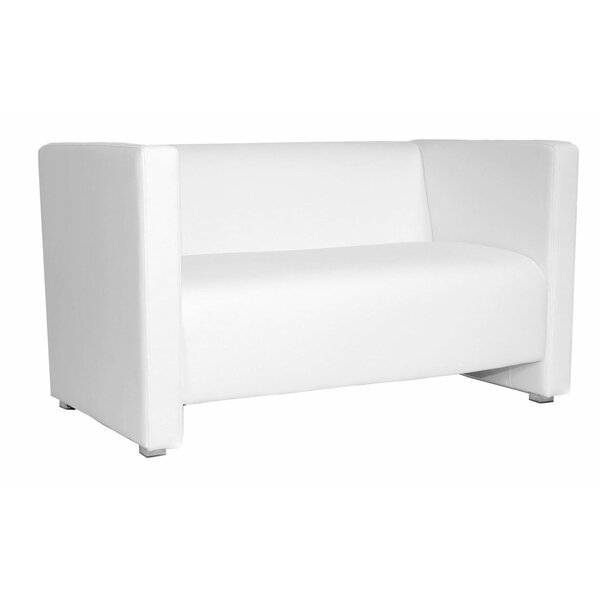Zurich Chesterfield Loveseat by Florida Seating