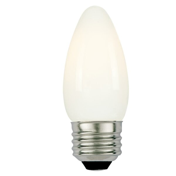3W E26 Dimmable LED Candle Light Bulb (Set of 6) by Westinghouse Lighting