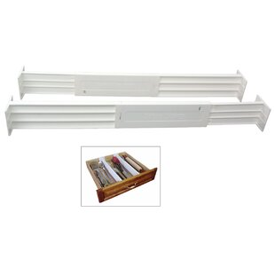 Best Deals 2.8H x 22W x 2.5D Drawer Organizer (Set of 2) By DialManufacturing