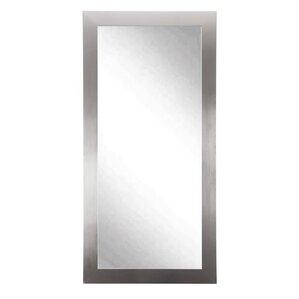 Designer Silver Floor Mirror
