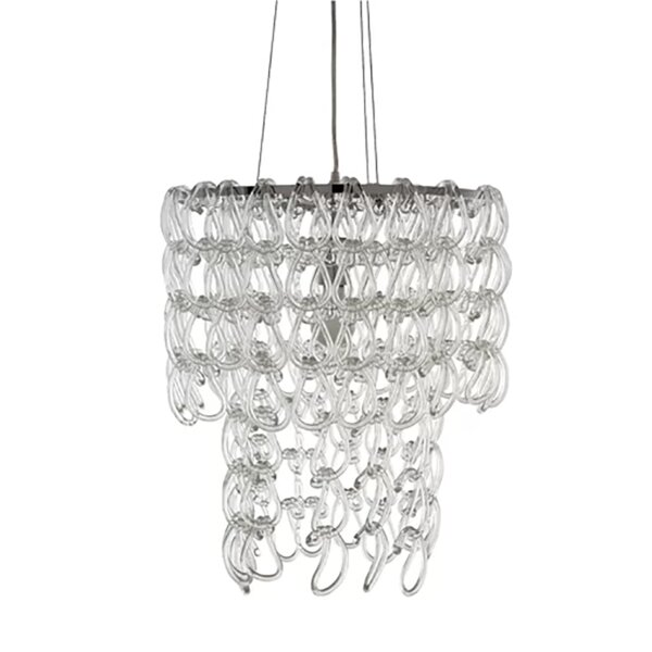 Rainer 1 - Light Unique / Statement Tiered Chandelier by House of Hampton House of Hampton