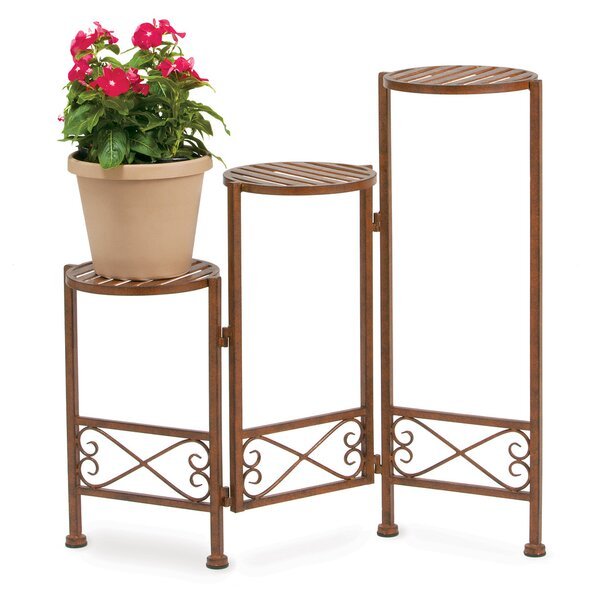 3 Step Folding Plant Stand by Deer Park Ironworks