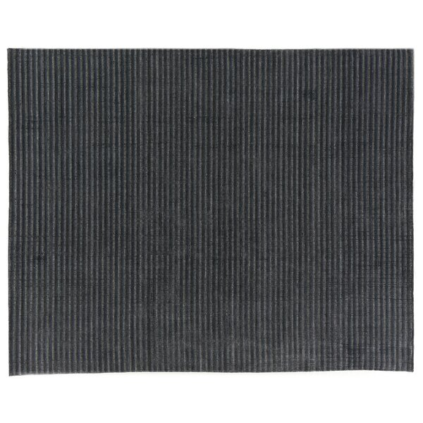 Vive Hand-Knotted Wool/Silk Blue/Gray Area Rug by Exquisite Rugs