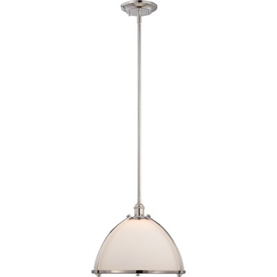 Winston Porter Ahaan 1 Light Single Dome Pendant Winston Porter Size 4 38 H X 13 W From Wayfair North America Shefinds