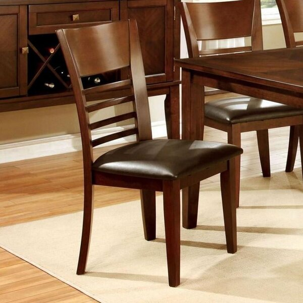 Cabezas Solid Wood Dining Chair (Set of 2) by Charlton Home Charlton Home