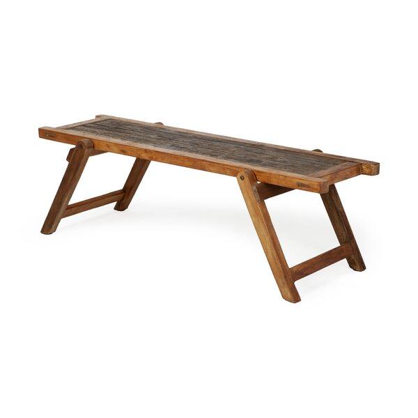 Cecelia Wood Bench by Loon Peak