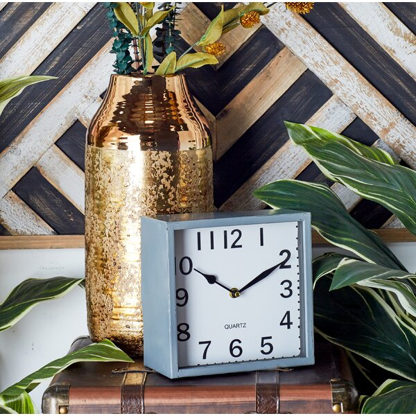 Metal Tabletop Clock (Set of 3) by Cole & Grey
