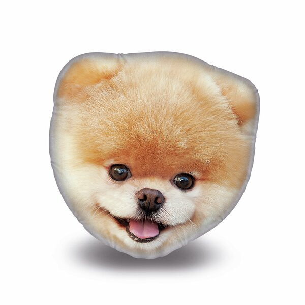 Picture Perfect Boo Throw Pillow by LiLiPi