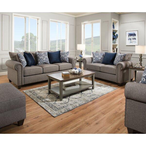 Delbert Sleeper Configurable Living Room Set by Alcott Hill