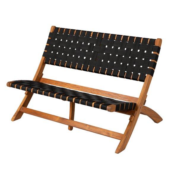 Sava Indoor/Outdoor Wooden Park Bench by PatioSense