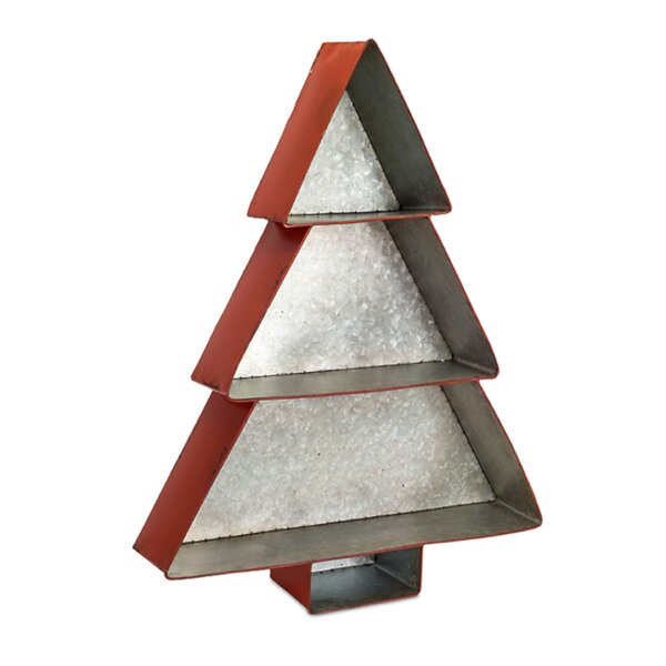 Kali Metal Tree Shelf Decorative Accent by The Holiday Aisle