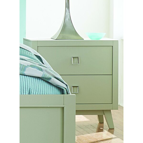 Hagerty 2 Drawer Nightstand by Brayden Studio