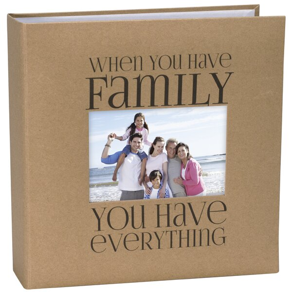 Family Kraft Paper Picture Album by Malden