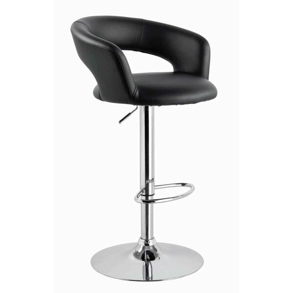 Sevastopol Adjustable Height Swivel Bar Stool by Orren Ellis