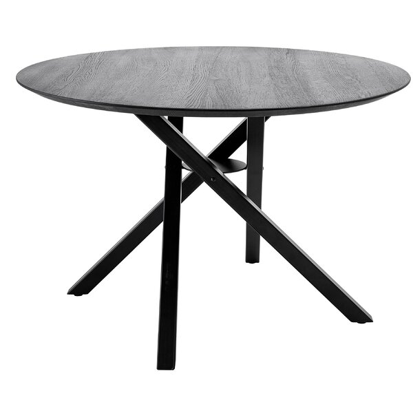 Minerville Solid Wood Dining Table by Ebern Designs Ebern Designs