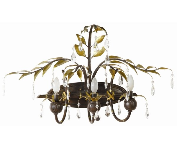 New Plantation 3-Light Vanity Light by Yosemite Home Decor