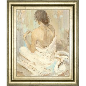 Abstract Figure Study 2 by Albena Hristova Framed Painting Print by Classy Art Wholesalers