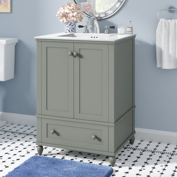 Potomac 25 Single Bathroom Vanity Set by Andover Mills