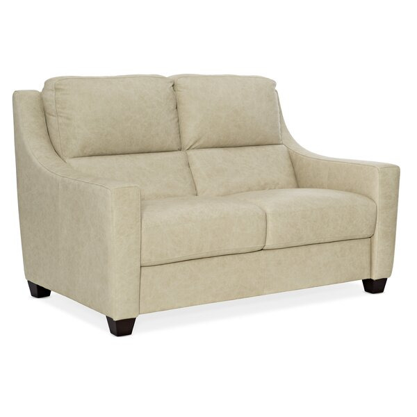 Monti Leather Loveseat By Hooker Furniture