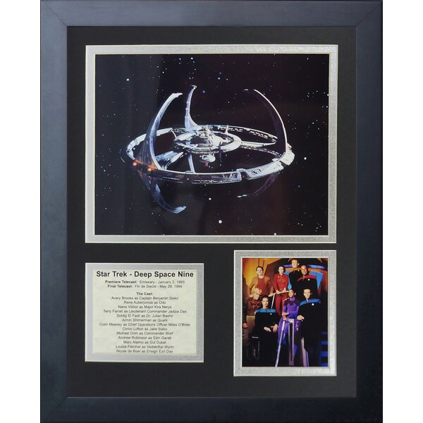 Deep Space Nine Framed Memorabilia by Legends Never Die