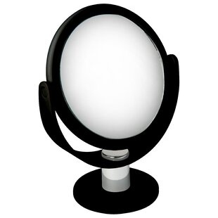 Affordable Cranleigh Dual Sided Rubberized Makeup/Shaving Mirror By Symple Stuff