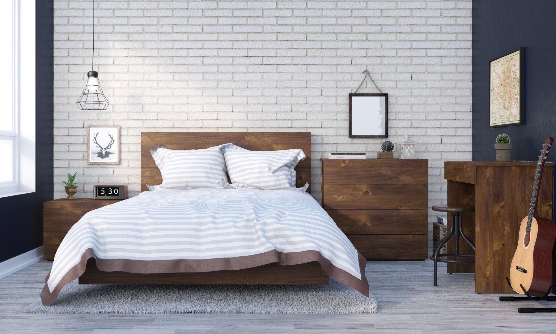 Union Rustic Kaylee Full/Double Platform Bed & Reviews   Wayfair on
