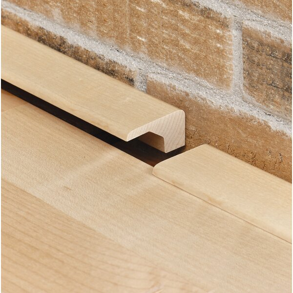 0.38 x 1.19 x 78 Cherry Square Nose by Moldings Online