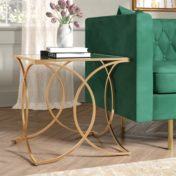 Dunlin End Table by Everly Quinn