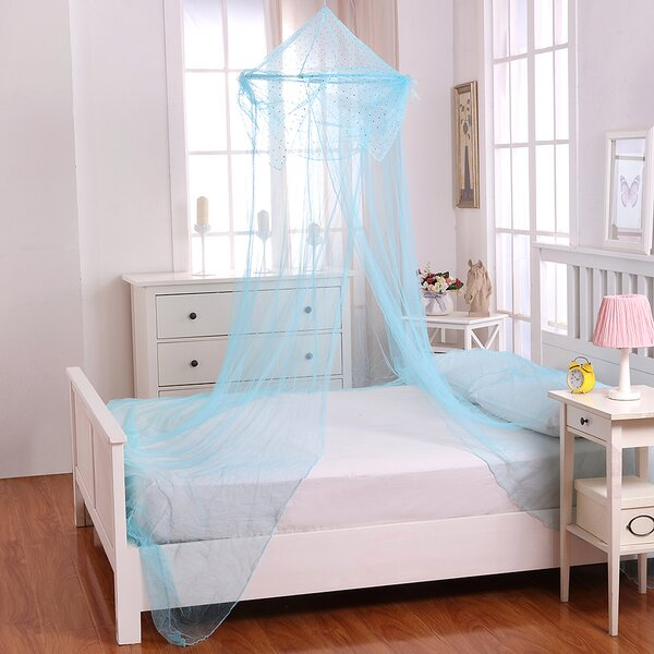 Raisinette Kids Collapsible Hoop Sheer Bed Canopy
