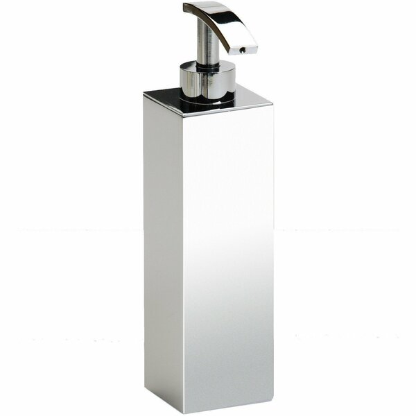 Lambright Box Metal Pump Soap and Lotion Dispenser by Everly Quinn