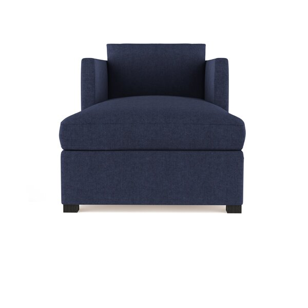 Leedom Velvet Chaise Lounge by Brayden Studio