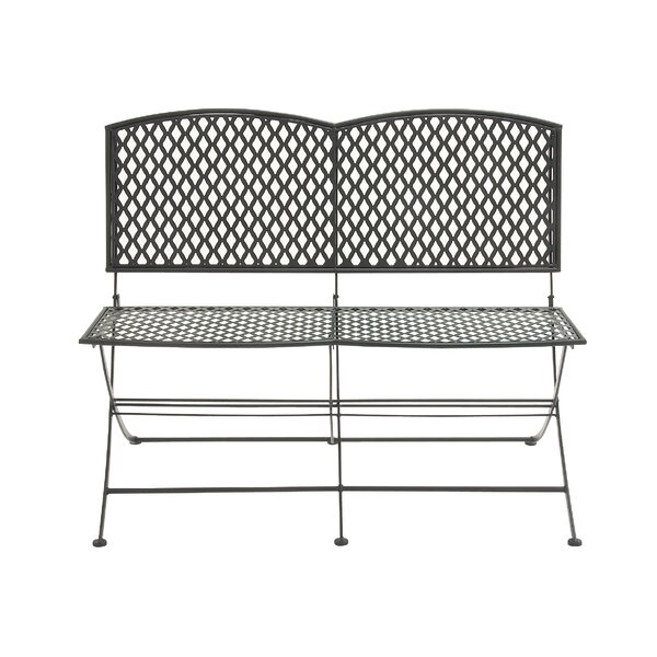 Metal Garden Bench by Cole & Grey